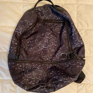 Lululemon black backpack